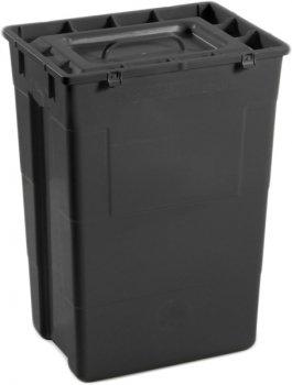 Контейнер для сбора медицинских и биологических отходов AP Medical SC 50 л R Black (2023400 4586 06)