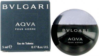 Миниатюра туалетной воды для мужчин Bvlgari Aqva Pour Homme 5 мл (783320916007)
