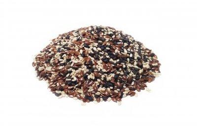 Суміш кунжуту і насіння льону 500г