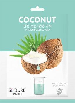 Маска для лица ампульная с экстрактом кокоса Jkosmec 25 мл (8809689370358)