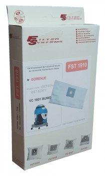 Багаторазовий мішок Filter Systems FST 1910 для пилососів GORENJE VC 1601 BUWD