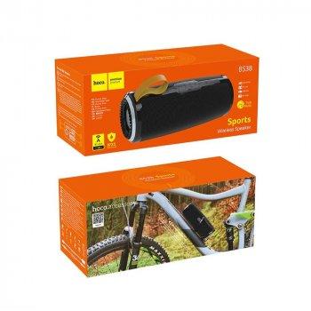 Портативна Bluetooth-колонка Hoco BS38 Cool freedom sports wireless speaker Black