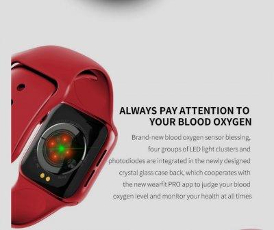 Смарт Годинник Smart Watch SENOIX S12 Pink (Рожеві) з функцією ЕКГ, підтримка багатозадачності