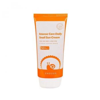 Солнцезащитный крем Enough Intense Care Daily Snail Sun Cream с омолаживающим эффектом (8809474494894)