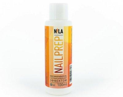 Знежирювачах з антибактеріальним Nila Nail Prep ефектом 100 мл