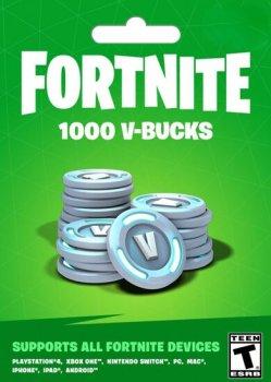 Fortnite 1000-баксів (1000 V-BUCKS) | PS4