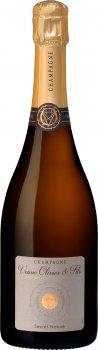 Шампанське Champagne Veuve Olivier & Fils — Secret Nature — Zero Dosage біле сухе 0.75 л 12% (3760308020069)