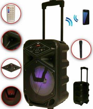 Акустическая система DMS K8-8G (Bluetooth, USB, MP3, Wireless LED)