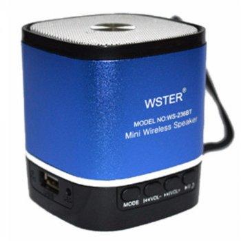 Портативная колонка Mini Speaker WS-236-BT