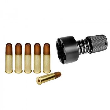 Спидлоадер для револьверів ASG Dan Wesson + фальшпатроны (6шт)