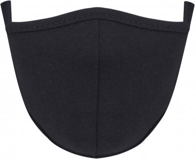Набор детских защитных масок многоразовых Anmerino 3-5 лет Черный 2 шт (255489756)