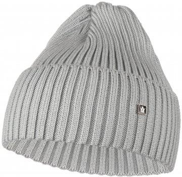 Демисезонная шапка Anmerino Blick 56-58 см Серая (ROZ6400023775)