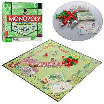 Розвиваюча Настільна гра Монополія Україна Monopoly METR+ для дітей та дорослих Від 2 до 6 учасників Українська версія