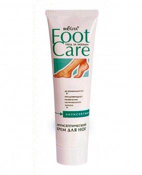 Антисептический крем для ног Foot care Белита Уход за ногами от неприятного запаха 100 мл (4899151008635)