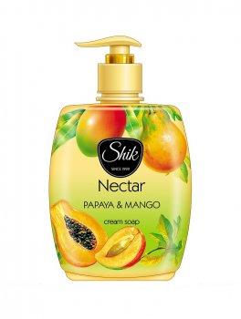 Жидкое крем-мыло Шик Nectar Папайя и манго 300 мл с дозатором