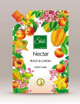 Жидкое крем-мыло Шик Nectar Персик и карамболь 460 мл