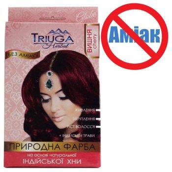 Фарба для волосся Triuga Вишня на основі хни 25 г