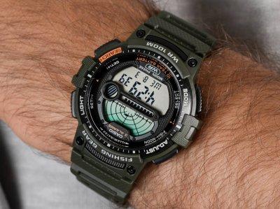 Чоловічі годинники Casio WS-1200H-3AVEF