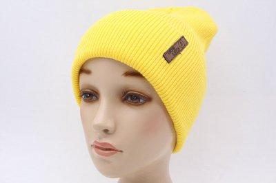 Женская Шапка Leks-Jolie Швеция Размер (53-57) Цвет (темно-желтый)