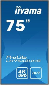 Монитор IIYAMA LH7542UHS-B1 (LH7542UHS-B1)