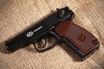 Пістолет пневматичний SAS Makarov Blowback. Корпус - метал (23702441)