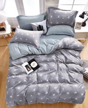 Комплект постельного белья Stella Prima Микросатин 180x220 Серый (SP-1010 Md)