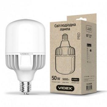 Лампа LED A118 50W E40 5000K 220V, 24310, Videx