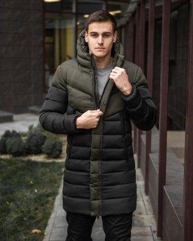 Куртка Chernyy Kot Zirka Чорна-хакі