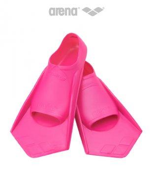 Короткие ласты с закрытой пяткой Arena PowerFin Pink (95218-095) 33-34