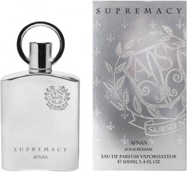 Парфюмированная вода для мужчин Afnan Perfumes Supremacy Silver 100 мл (6290171000976)