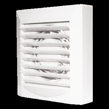 Вентилятор вытяжной Era EURO 6A 16Dn230 м3D150 осевой с автоматическими жалюзи