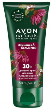 Крем для лица Avon Эхинацея и белый чай 50 мл (1382035)(ROZ6400101820)
