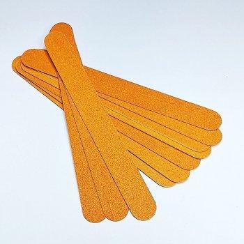 Пилочки для нігтів на дерев'яній основі овал 10шт