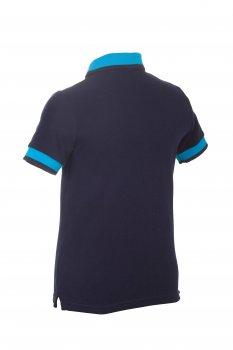 """Футболка- поло Alfonso F.3-A """"Jastin"""" синяя"""