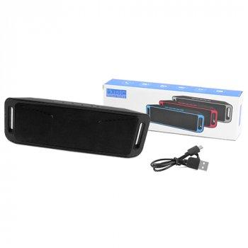 Bluetooth-колонка SC-208 c функцією speakerphone, радіо, black
