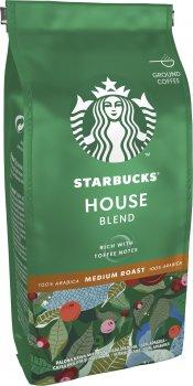Кофе Starbucks Хаус Бленд натуральный жареный молотый 200 г (7613036932110)