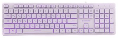 Клавиатура проводная Gembird KB-UML3-01-W-UA USB (EN/RU/UA) (8716309923507)