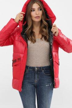 Женская зимняя Куртка 289 GLEM до -15С, цвет красный