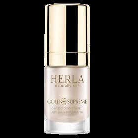 Сыворотка для лица Herla 24к Золото омолаживающая концентрированная 15 мл (5906395131488)