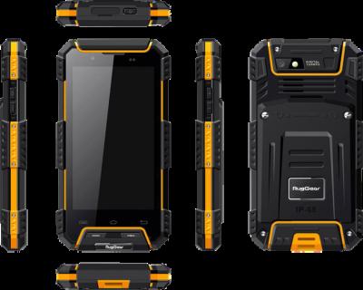 Захищений мобільний телефон RugGear rg 702