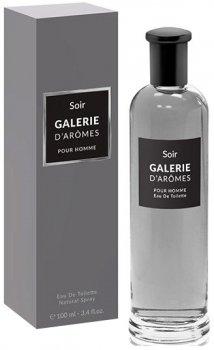 Туалетная вода для мужчин Galerie D`Aromes Soir 100 мл (3770004118731)