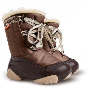 Зимние дутики Demar Joy 4019 a коричневые