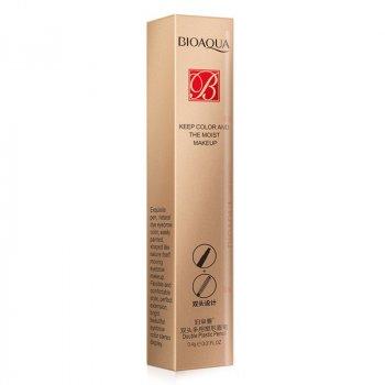 Олівець для брів водостійкий двосторонній BIOAQUA Double 0,4 г Natural Black