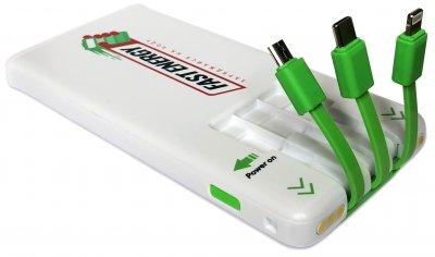 УМБ Fast Energy 5000 mAh White (UFTSP5000)