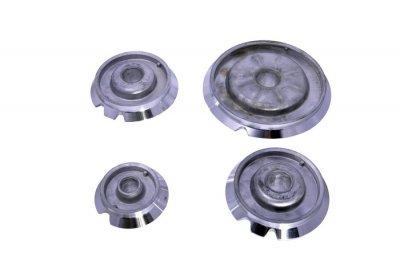 Комплект горелок для газовой плиты Ariston, Indesit C00053054 ( 4 штуки )