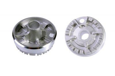 Горелка для газовой плиты Ariston, Indesit C00052930 h=27 mm d=50 mm