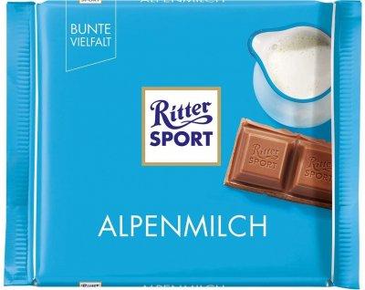 Шоколад Ritter Sport Alpenmilch 100 g