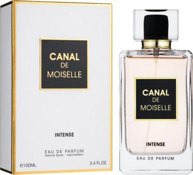 Парфюмированная вода для женщин Fragrance World Canal De Moiselle Intense аналог Chanel Coco Mademoiselle Intense 100 мл (6291106487794)