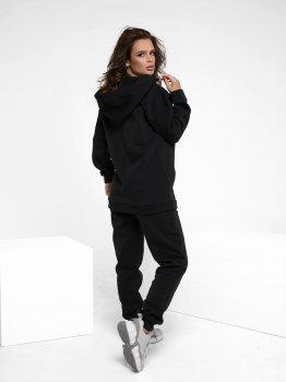 Спортивний костюм ISSA PLUS 12236 Чорний