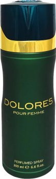 Дезодорант для женщин Fragrance World Dolores аналог M.Jacobs Decadence 200 мл (6291106488272)